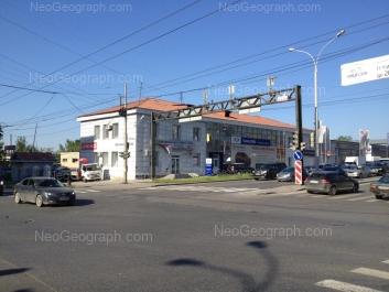 На фото видно: Гурзуфская улица, 53; Посадская улица, 10. Екатеринбург (Свердловская область)