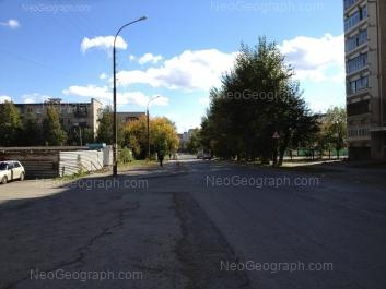 View to: Kommunisticheskaya street, 6; Kommunisticheskaya street, 8; Lomonosova street, 44. Yekaterinburg (Sverdlovskaya oblast)