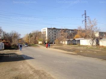 View to: Dagestanskaya street, 26; Slaviyanskaya street, 52; Slaviyanskaya street, 54; Slaviyanskaya street, 56. Yekaterinburg (Sverdlovskaya oblast)