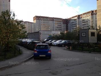 View to: Samotsvetniy boulevard, 5; Rodonitovaya street, 1; Rodonitovaya street, 3 к2. Yekaterinburg (Sverdlovskaya oblast)