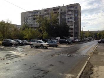 View to: Vikulova street, 37/1; Vikulova street, 38А. Yekaterinburg (Sverdlovskaya oblast)