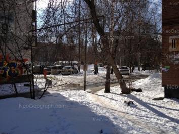 View to: Vstrechniy lane, 7/2; Vstrechniy lane, 9; Serafimi Deriyabinoy street, 15/2. Yekaterinburg (Sverdlovskaya oblast)