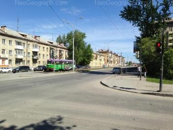 View to: Donbasskaya street, 25; Donbasskaya street, 27; Donbasskaya street, 28; Donbasskaya street, 29. Yekaterinburg (Sverdlovskaya oblast)