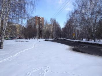 View to: Yasnaya street, 18; Yasnaya street, 20д; Yasnaya street, 22; Yasnaya street, 24. Yekaterinburg (Sverdlovskaya oblast)