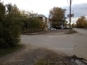 На фото видно: Артинская улица, 25. Екатеринбург (Свердловская область)
