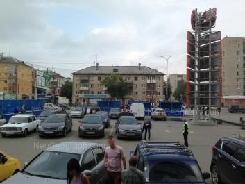 View to: Kosmonavtov avenue, 53. Yekaterinburg (Sverdlovskaya oblast)