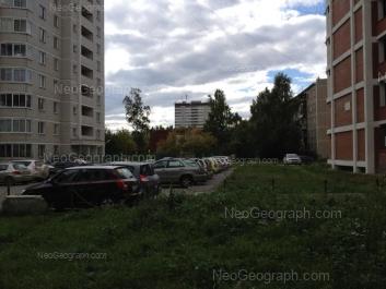 View to: Parnikovaya street, 11; Parnikovaya street, 20 (Детский сад №317, комбинированного вида); Parnikovaya street, 22; Shefskaya street, 103. Yekaterinburg (Sverdlovskaya oblast)