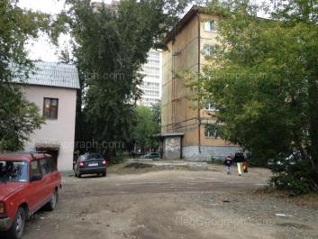 View to: Belorechenskaya street, 1; Belorechenskaya street, 3. Yekaterinburg (Sverdlovskaya oblast)