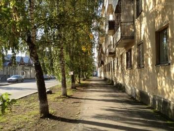 View to: Studencheskaya street, 49А; Studencheskaya street, 70. Yekaterinburg (Sverdlovskaya oblast)