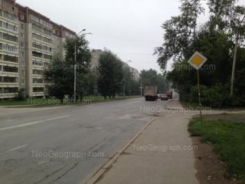 View to: Shefskaya street, 59; Shefskaya street, 61. Yekaterinburg (Sverdlovskaya oblast)