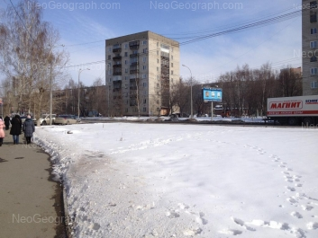 View to the building with address Sovetskaya Street, 10 Yekaterinburg