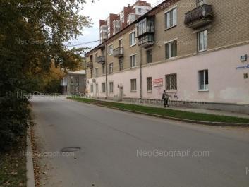 На фото видно: Циолковского улица, 76А; Циолковского улица, 76. Екатеринбург (Свердловская область)