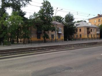 View to: Bakinskikh Komissarov street, 24; Bakinskikh Komissarov street, 26. Yekaterinburg (Sverdlovskaya oblast)
