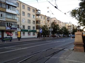 На фото видно: Ленина проспект, 5 к1 литер А; Ленина проспект, 5 к1. Екатеринбург (Свердловская область)