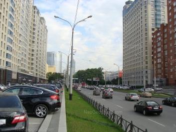 View to: Belinskogo street, 83; Belinskogo street, 86 (Атриум, жилой комплекс); Kuibisheva street, 44д (Центр международной торговли). Yekaterinburg (Sverdlovskaya oblast)