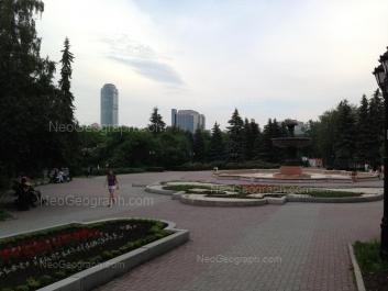 На фото видно: Энгельса улица, 4. Екатеринбург (Свердловская область)