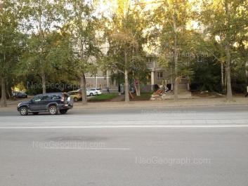 На фото видно: Викулова улица, 43 к1; Металлургов улица, 26. Екатеринбург (Свердловская область)