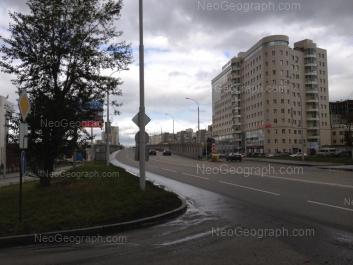 На фото видно: Верещагина переулок, 6А; Московская улица, 195. Екатеринбург (Свердловская область)
