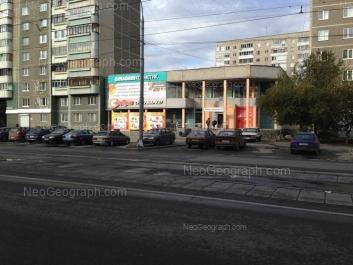View to: Vikulova street, 28А; Vikulova street, 28Б. Yekaterinburg (Sverdlovskaya oblast)