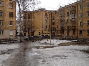 На фото видно: Баумана улица, 4Б; Баумана улица, 6; Баумана улица, 9. Екатеринбург (Свердловская область)