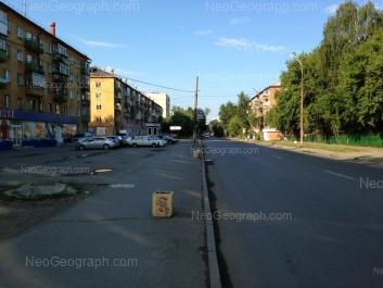 View to: Iliicha street, 48; Iliicha street, 50; Iliicha street, 52; Iliicha street, 65. Yekaterinburg (Sverdlovskaya oblast)