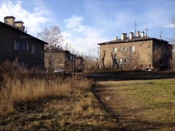 View to: Zavodskaya street, 100; Nachdiva Vasilieva street, 14; Nachdiva Vasilieva street, 16. Yekaterinburg (Sverdlovskaya oblast)