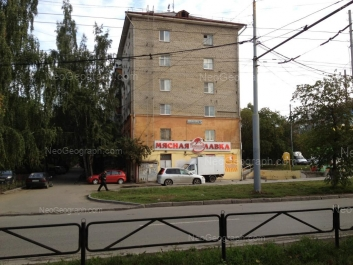 На фото видно: Академическая улица, 27; Комсомольская улица, 15. Екатеринбург (Свердловская область)