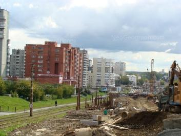 View to: Sheikmana street, 120; Sheikmana street, 134А. Yekaterinburg (Sverdlovskaya oblast)