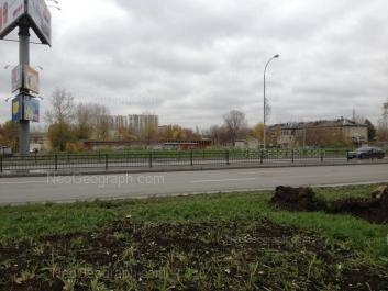 View to: Luganskaya street, 1. Yekaterinburg (Sverdlovskaya oblast)