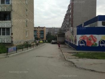 View to: Kollektivniy lane, 13; Kollektivniy lane, 15; Selkorovskaya street, 38; Selkorovskaya street, 40. Yekaterinburg (Sverdlovskaya oblast)