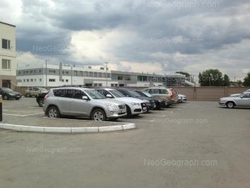 View to: Bazoviy lane, 10; Sibirskiy trakt street, 12/8. Yekaterinburg (Sverdlovskaya oblast)