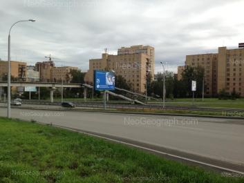На фото видно: Репина улица, 19; Репина улица, 21. Екатеринбург (Свердловская область)