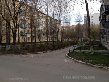 View to: Belorechenskaya street, 9/3; Posadskaya street, 28/2; Posadskaya street, 28/1. Yekaterinburg (Sverdlovskaya oblast)