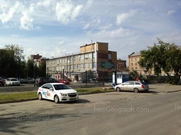 View to: Zavodskaya street, 27 (Бытсервис, торговый дом); Zavodskaya street, 34/1. Yekaterinburg (Sverdlovskaya oblast)