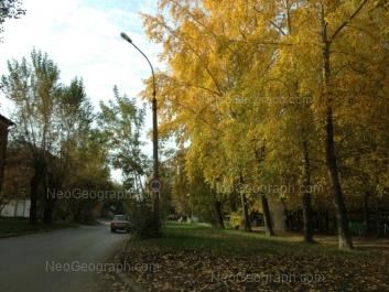 На фото видно: Избирателей улица, 72; Ломоносова улица, 59. Екатеринбург (Свердловская область)
