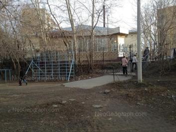 View to: Kimovskaya street, 2; Kimovskaya street, 4; Nekrasova street, 2. Yekaterinburg (Sverdlovskaya oblast)