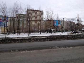 View to: Rastochnaya street, 15/7; Rastochnaya street, 15/8; Rastochnaya street, 17/3; Rastochnaya street, 17/2; Rastochnaya street, 17/1; Tekhnicheskaya street, 99. Yekaterinburg (Sverdlovskaya oblast)