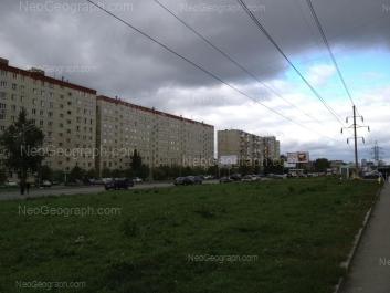 View to: Nadezhdinskaya street, 14; Tavatuiskaya street, 1Б; Tavatuiskaya street, 1А. Yekaterinburg (Sverdlovskaya oblast)