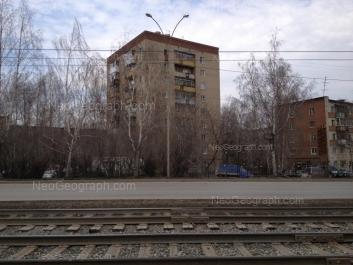 View to: Blukhera street, 71/2; Blukhera street, 73; Blukhera street, 75/1; Blukhera street, 75/3. Yekaterinburg (Sverdlovskaya oblast)