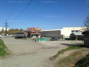 View to: Angarskaya street, 83; Angarskaya street, 83а. Yekaterinburg (Sverdlovskaya oblast)