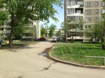 View to: Avtomagistralnaya street, 29; Avtomagistralnaya street, 33. Yekaterinburg (Sverdlovskaya oblast)