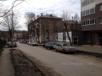 View to: Komsomolskaya street, 4; Komsomolskaya street, 4А; Komsomolskaya street, 7; Kulibina street, 1А; Kulibina street, 1. Yekaterinburg (Sverdlovskaya oblast)