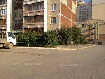 View to: 8 Marta street, 194к; Aviatsionnaya street, 55. Yekaterinburg (Sverdlovskaya oblast)