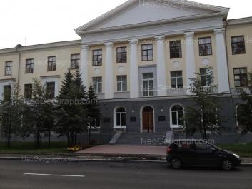 На фото видно: Софьи Ковалевской улица, 18. Екатеринбург (Свердловская область)