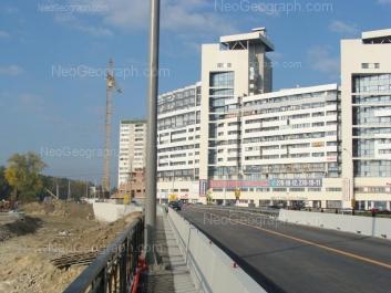 На фото видно: Токарей улица, 68 (Бригантина, жилой комплекс). Екатеринбург (Свердловская область)