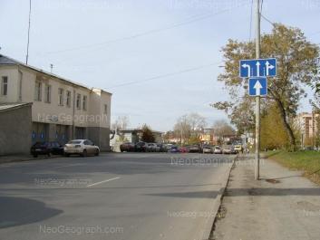 На фото видно: Бебеля улица, 39; Бебеля улица, 57. Екатеринбург (Свердловская область)