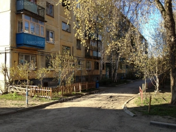 View to: Posadskaya street, 55. Yekaterinburg (Sverdlovskaya oblast)