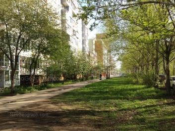 View to: Amundsena street, 52; Amundsena street, 56. Yekaterinburg (Sverdlovskaya oblast)