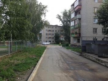 View to: Krasnoflotsev street, 43; Krasnoflotsev street, 49. Yekaterinburg (Sverdlovskaya oblast)