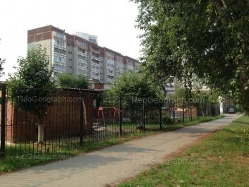 View to: Starikh Bolshevikov street, 50. Yekaterinburg (Sverdlovskaya oblast)